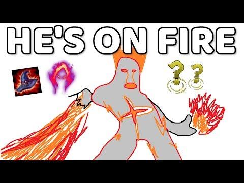 FLAMING FULL AP BRAND