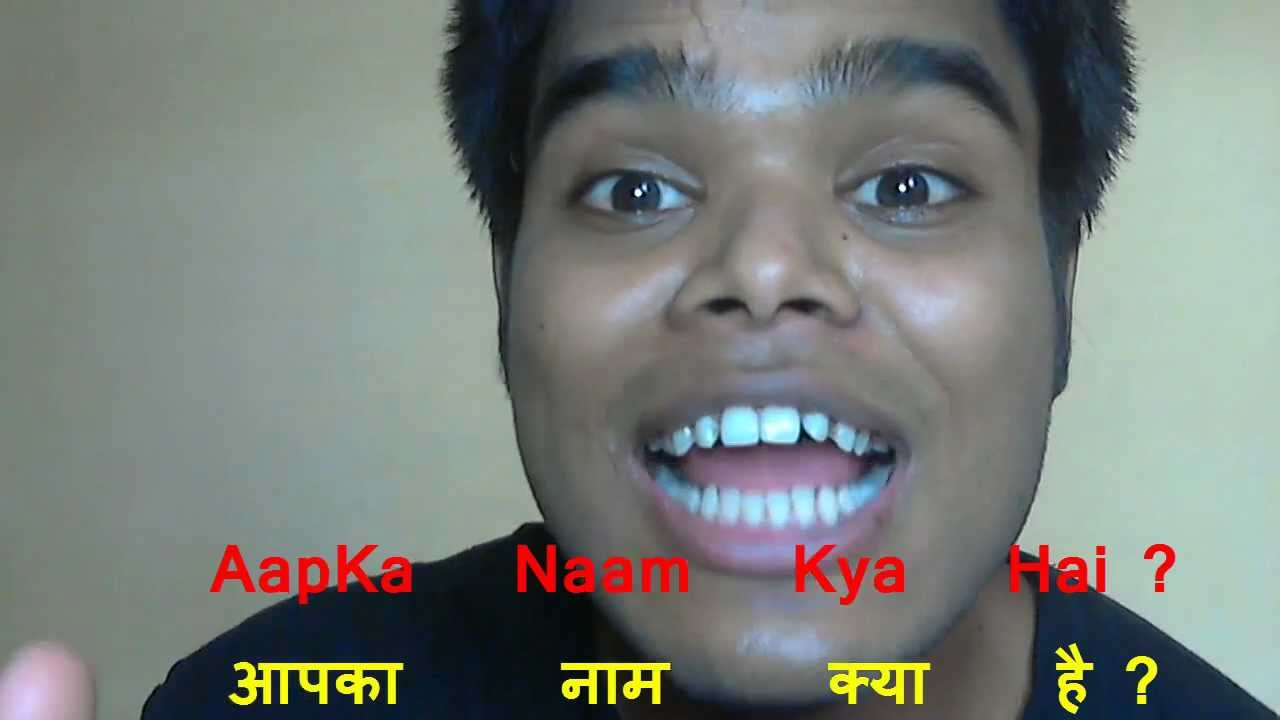 What Is Your Name In Hindi How To Speak Hindi 8 Youtube