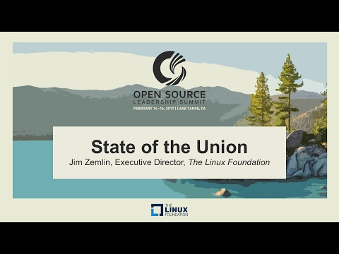 Keynote: State of the Union - Jim Zemlin, Executive Director, The Linux Foundation