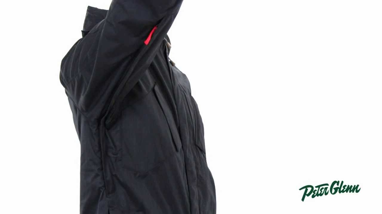 fe96a5abe345 Nike Men s Bellevue 3-In-1 Insulated Snowboard Jacket Review by Peter Glenn  - YouTube