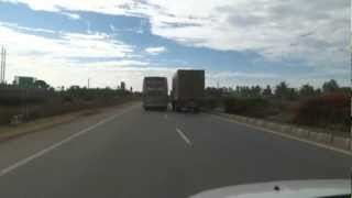Chasing the Mercedes Benz Multi-Axle Bus on NH-4
