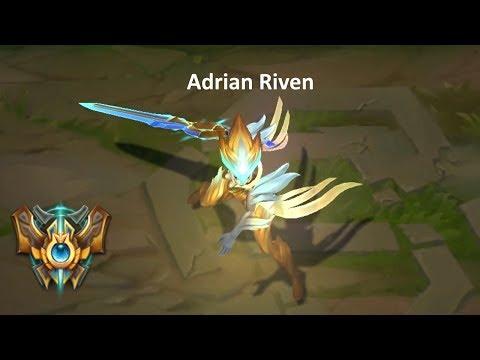 Adrian Riven Montage - Best Riven Plays (League of Legends)