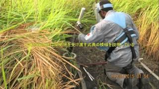 NPAは日本による助成金を基に、開拓地を受け渡す。
