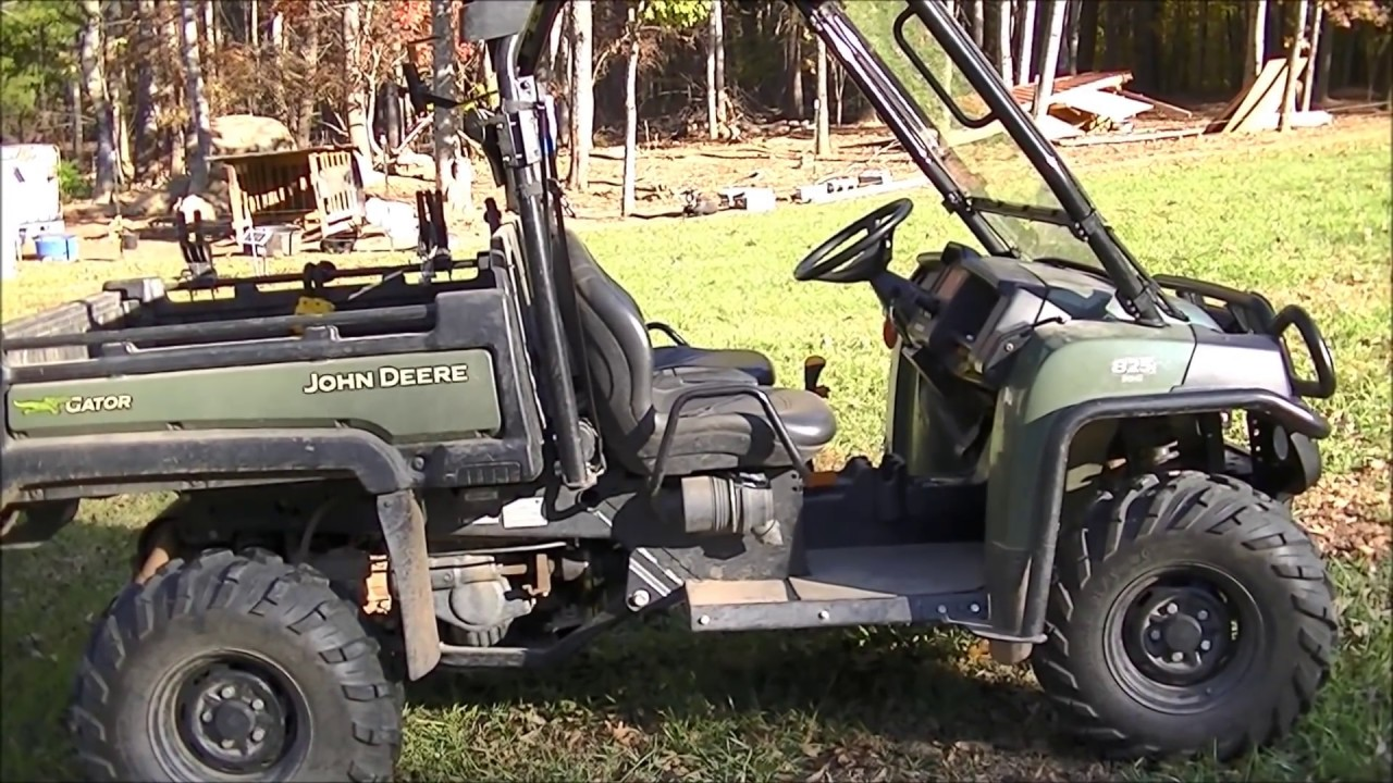 dont buy a gator until you see this a farmer 39 s comprehensive review of the john deere gator. Black Bedroom Furniture Sets. Home Design Ideas
