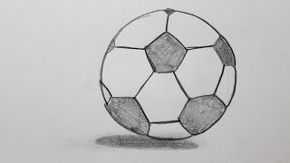 Comment dessiner un ballon de football