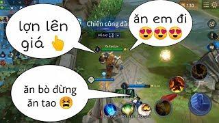 Troll Game _ Bò Ngáo Gạ Team Địch Ăn Thịt Và Cái Kết Khắm | Yo Game