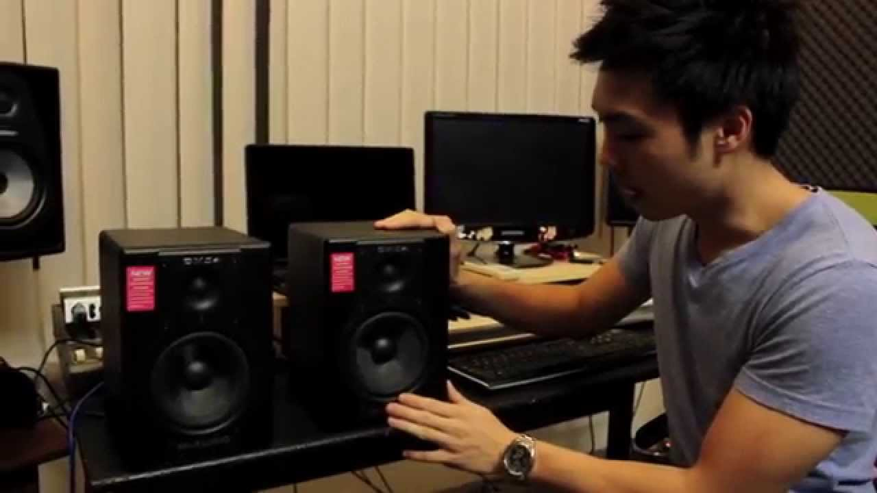 m audio bx5a review why 5 inch studio monitors youtube. Black Bedroom Furniture Sets. Home Design Ideas