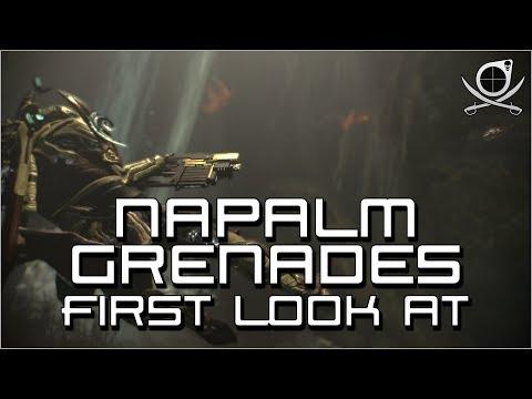(Warframe) Napalm Grenades - First Look At! thumbnail