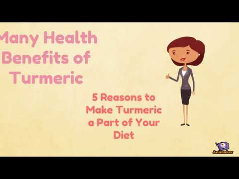 What are the many health benefits of turmeric?
