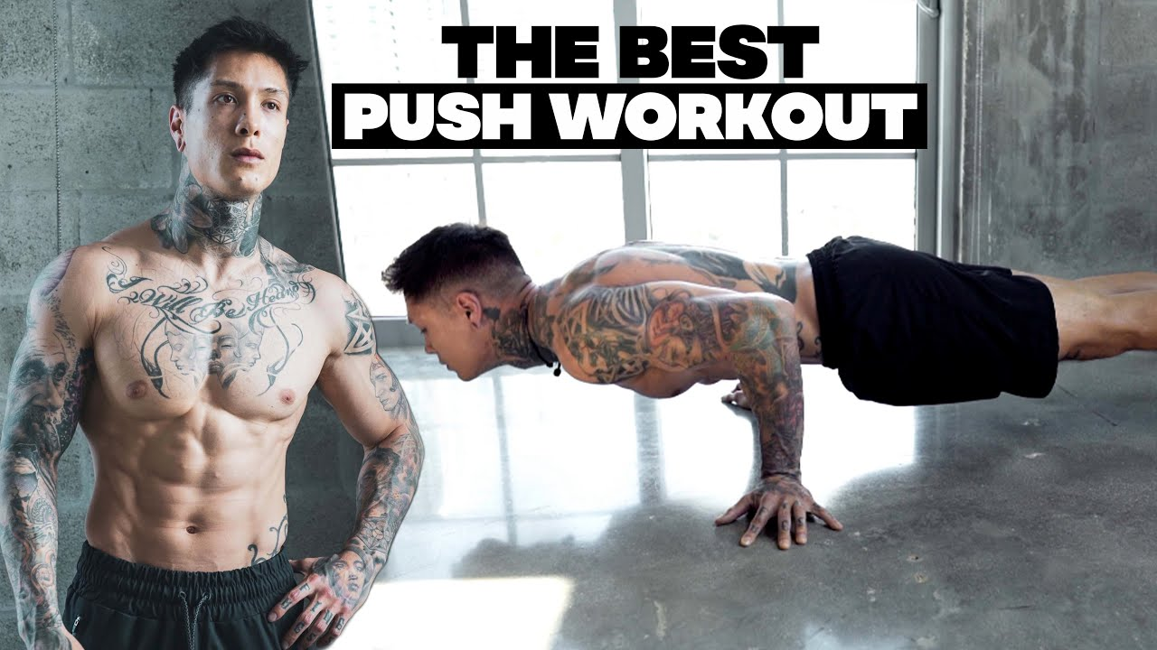 The Best Push Workout | Body Weight Only