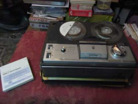 Walt Whitman  Whoever You Are Holding Me  Dan O'herlihy  Rare Reel to Reel Tape   1st video