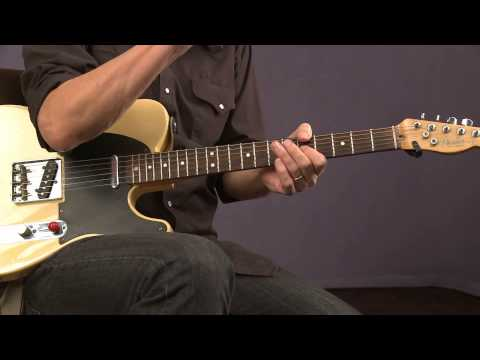 Blues Guitar Lessons with Keith Wyatt: Blue Notes - The Blue Third