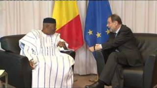 With the President of Mali