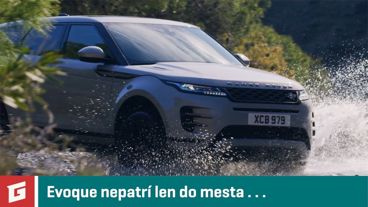 Range Rover Evoque 2019 - SUV - 4x4 - GARÁŽ.TV - Rasťo Chvála - YouTube