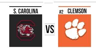 Week 13 2018 South Carolina vs #2 Clemson Full Game Highlights