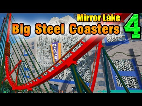 Planet Coaster - Big Red & Indoor Coasters - Mirror Lake ep. 4