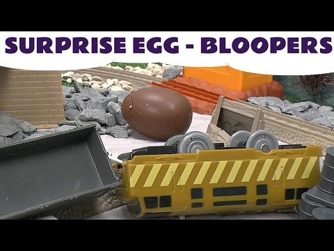 Thomas & Friends Surprise Eggs BLOOPERS Kinder Surprise Peppa Pig Play Doh My Little Pony Planes