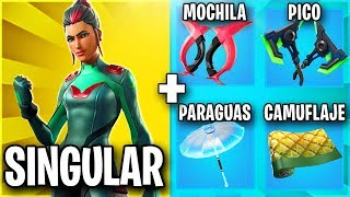 THE BEST SKIN COMBINATIONS WITH THE SKIN HIDDEN UNIQUENESS 💚 FORTNITE SKIN COMBOS