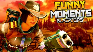 Black Ops 3 Funny Moments - Cowboy Training, Kung Fu Panda, Voice Changer! (BO3)