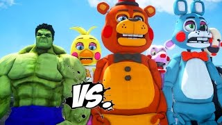 the incredible hulk vs five nights at freddy s great battle