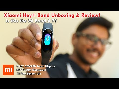 Xiaomi Hey+ Band Unboxing & Review India | Is this the Mi Band 4? Mp3