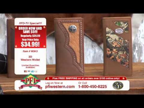 3D Western Wallets