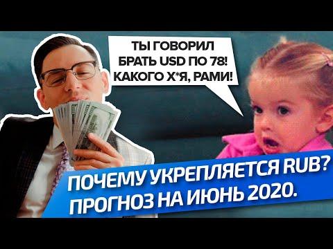 Стоит ли ПРОДАВАТЬ USD? Курс на Июнь 2020.