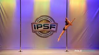 Gaia Pinna - IPSF World Pole Championships 2018
