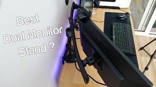 NovaTech V2 27inch Dual Monitor Setup, Best dual monitor stand? ROG Swift
