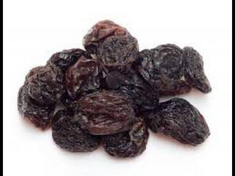 Propiedades de las uvas pasas para adelgazar