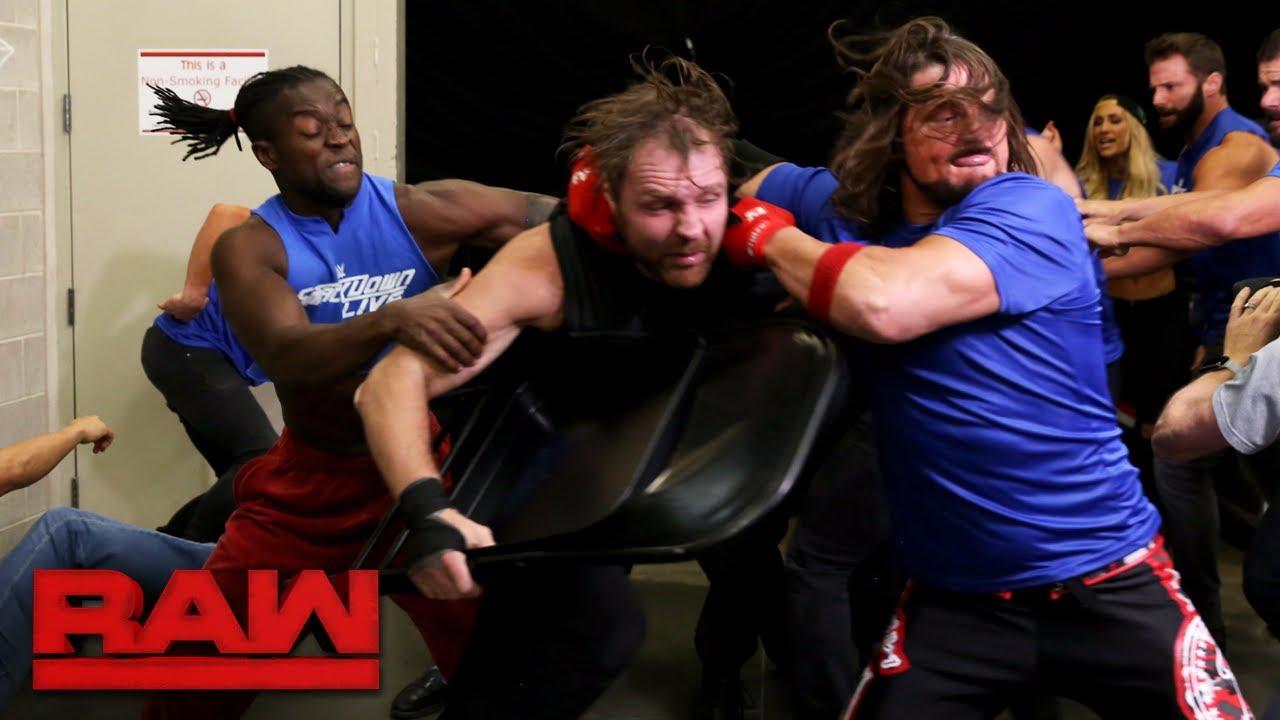 Monday Night Raw falls under siege by SmackDown Superstars: Raw, Oct. 23, 2017 #1
