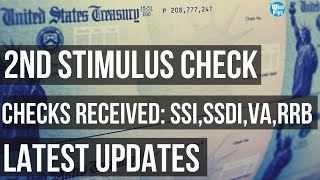 2nd Stimulus Updates | More $1,200 Checks Sent | When To Expect
