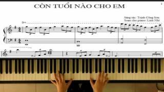 Còn Tuổi Nào Cho Em (Trịnh Công Sơn) | Piano Tutorial