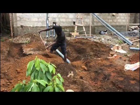 Plumbing In Sierra Leone, Africa