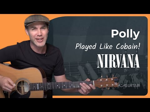 How to play Polly by Nirvana, Acoustic Unplugged Beginner (Guitar Lesson BS-806)