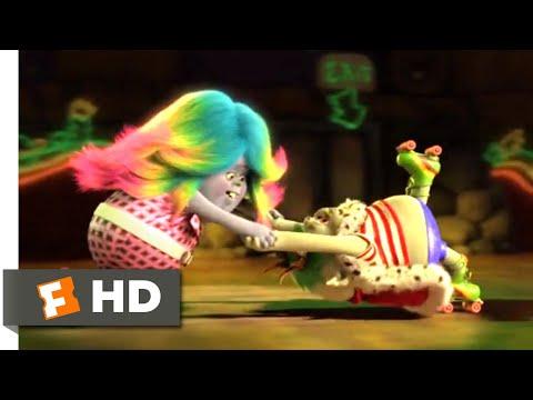 Trolls (2016) - Love on Rollerskates Scene (8/10)   Movieclips Mp3