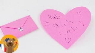 Plier un coeur en enveloppe pour une petite lettre   Instructions très simples