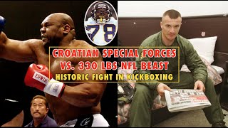 Croatian Special Forces Cop vs. 330 Pound NFL Beast