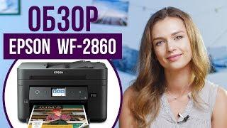 Обзор бюджетного цветного МФУ для офиса Epson WorkForce WF-2860