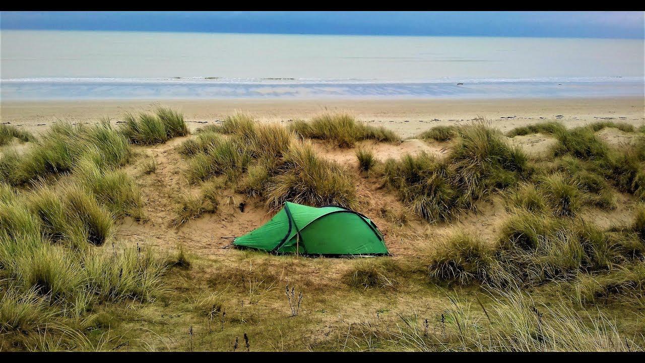 COASTAL SOLO WILD CAMP | GREATSTONE KENT | VANGO HELVELLYN ...