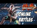 Tekken 7 Yoshimitsu gameplay ps4 online battles #1
