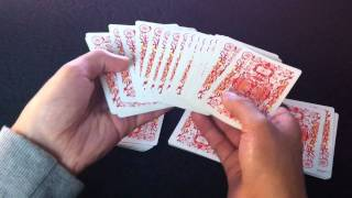 Amazing Easy CARD TRICK: Spectator Cuts the Aces