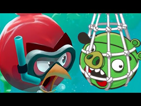 Angry Birds 2: Protect Oceans With Angry Birds New WWF Event!
