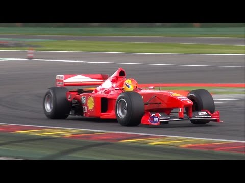 Ferrari Formula 1 V10 PURE Engine Noise! ex. Michael Schumacher!