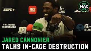 "Jared Cannonier: ""I'm going in there with the same plan: Decimate my opponent and destroy him"""