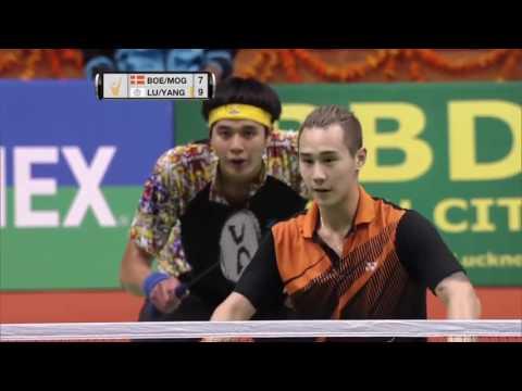 Syed Modi International Badminton C'ships 2017 | F | Boe/Mog vs Lu/Yang [HD]
