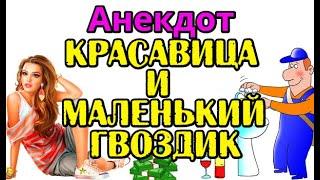 АНЕКДОТ ПРО САНТЕХНИКА И КРАСАВИЦУ, СВЕЖИЙ АНЕКДОТ...