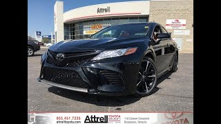 2018 Toyota Camry XSE V6 Red Leather Interior! - Attrell Toyota - Brampton ON