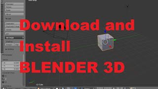 How to Download and Install BLENDER 3D on Windows 8 / Windows 8.1
