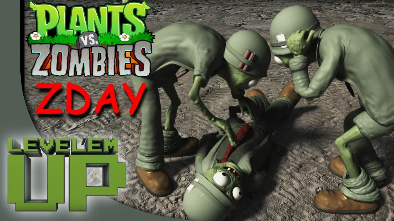 Plants Vs Zombies 3 In Real Life Fanmade Short Film 1080p Youtube